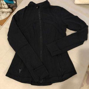 Lululemon long sleeve black zip up